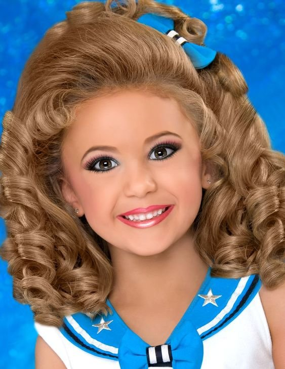 Free Pageant Hairstyles For Little Girls Il Miss Princess Wallpaper