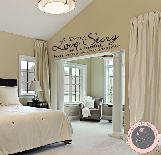 Best Bedroom Decor Bedroom Wall Decal Master Bedroom Wall With Pictures