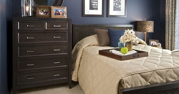 Best Sample Navy Blue And Brown Bedroom In An Eya Townhome In Washington Dc Learn More About Eya At With Pictures