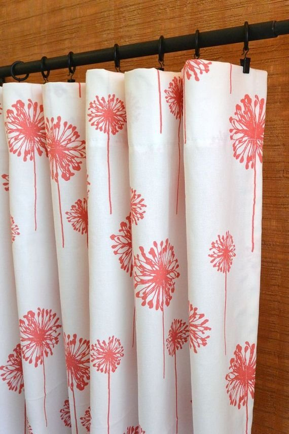 Best 25 Coral Curtains Ideas On Pinterest Gray Coral With Pictures