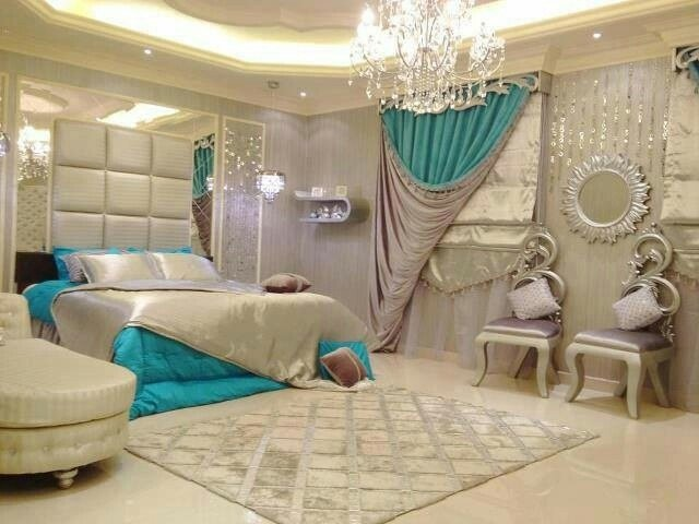 Best I Love Fancy Bedrooms Home Decor Pinterest Master Bedrooms Blue And Luxury With Pictures