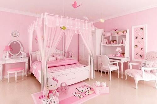 Best Bedroom Pink Hellokitty Kawaii Cute Girly With Pictures