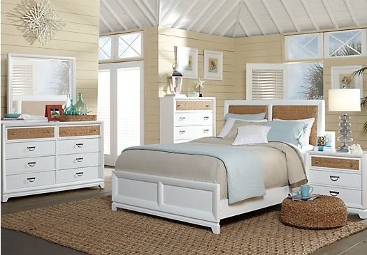 Best Shop For A Coastal View 5 Pc Queen Bedroom At Rooms To Go With Pictures