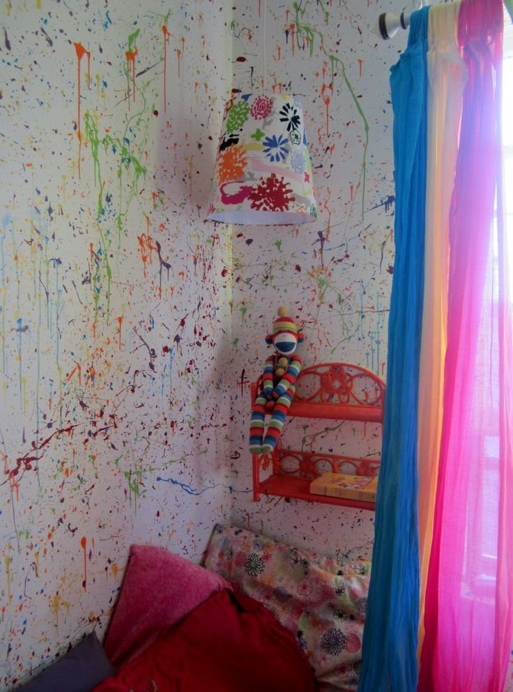Best 20 Splatter Paint Bedroom Ideas On Pinterest With Pictures