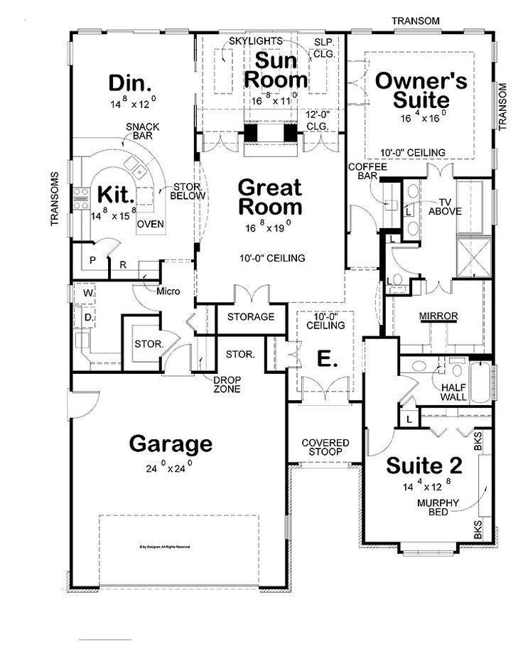 Best Simple Two Bedrooms House Plans For Small Home Large House With Garage Stunning Two Bedroom With Pictures