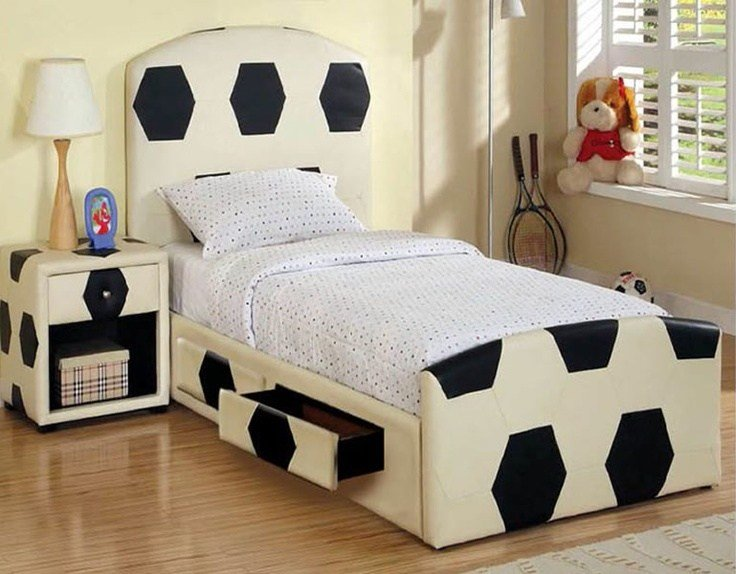 Best Boys Soccer Theme Bedroom Decor E S Room Ideas With Pictures