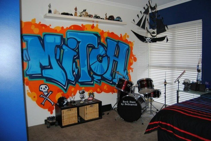 Best Graffiti Teenage Boys Room Cool Stuff For Mini Me With Pictures