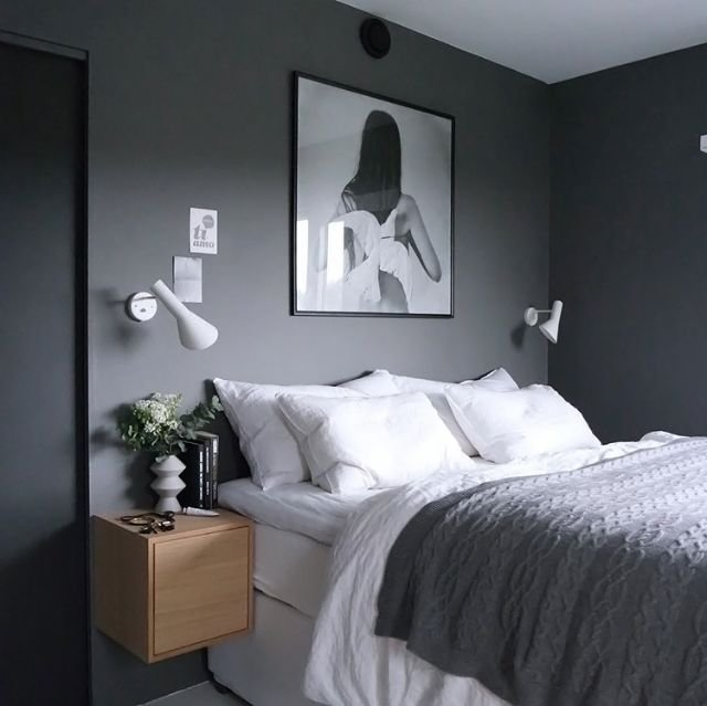 Best 25 Grey Bedroom Walls Ideas On Pinterest With Pictures
