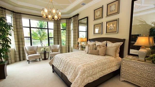 Best The Chantilly Model Home Master Bedroom Elegant Neutral With Pictures