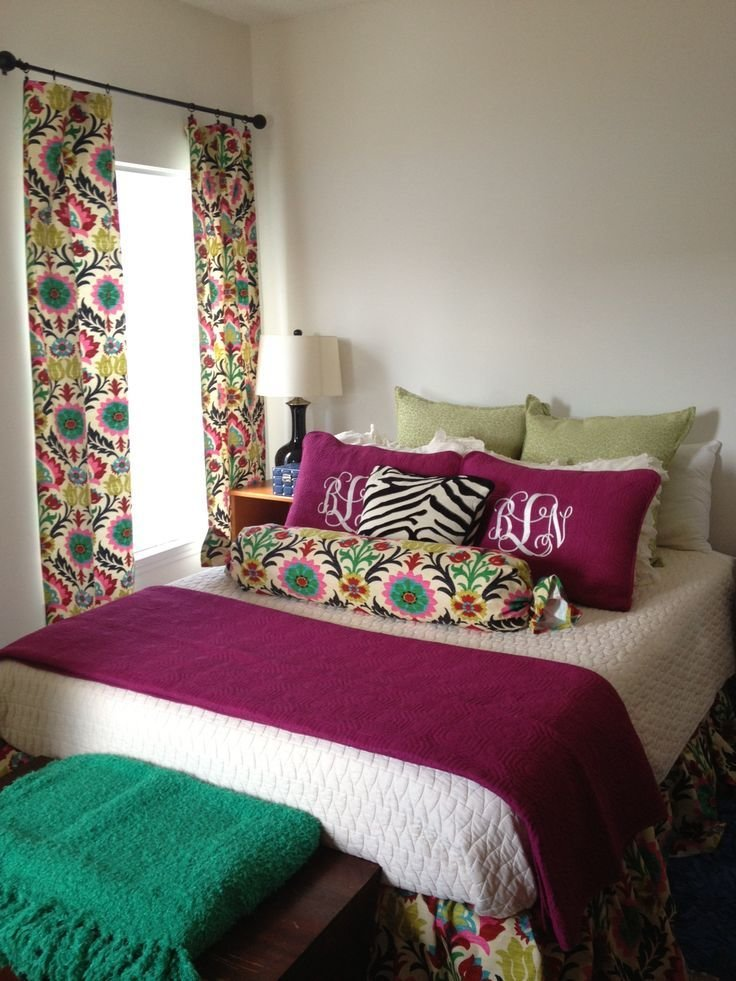 Best Jewel Tone Bedroom Decorations Using Waverly Santa Maria With Pictures