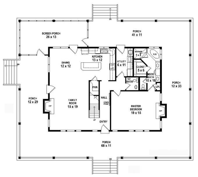 Best 653784 1 5 Story 3 Bedroom 2 5 Bath Country Farmhouse Style House Plan House Plans Floor With Pictures