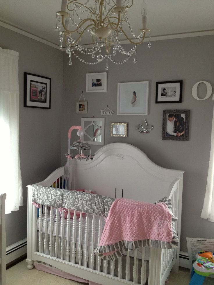 Best Pink Grey White Baby Girls Room Babies Room Pinterest With Pictures