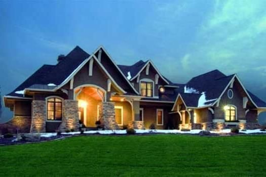 Best Craftsman Style House Plans 3651 Square Foot Home 2 Story 5 Bedroom And 4 Bath 4 Garage With Pictures
