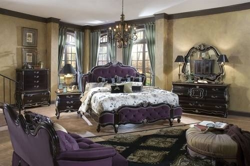 Best Neo Victorian Bedroom Set Purple Goth Victorian With Pictures