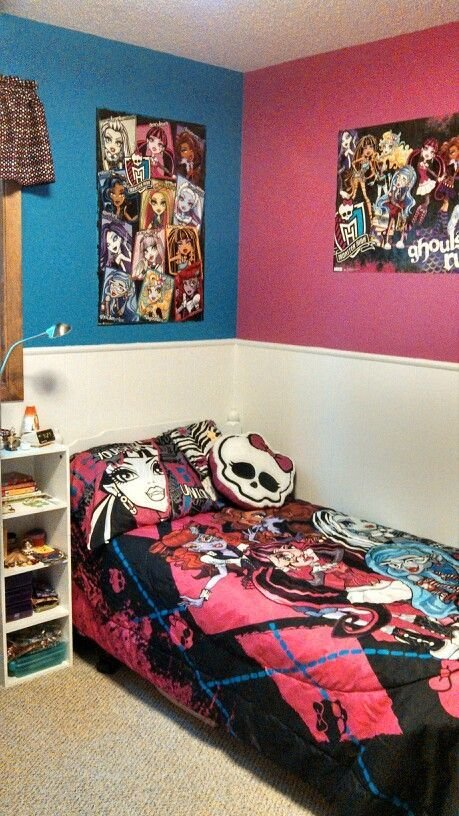 Best Monster High Bedroom Kids Room Ideas Pinterest A With Pictures