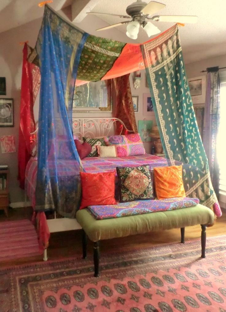 Best Hippie Bohemian Bedroom Tumblr Design Inspiration 23452 With Pictures