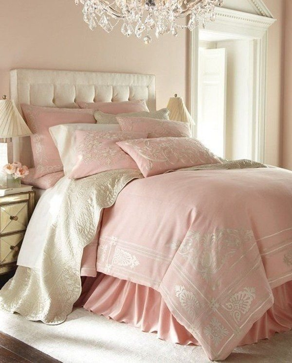 Best Chic Romantic Pink Pastel Bedroom Decor White Bedroom With Pictures
