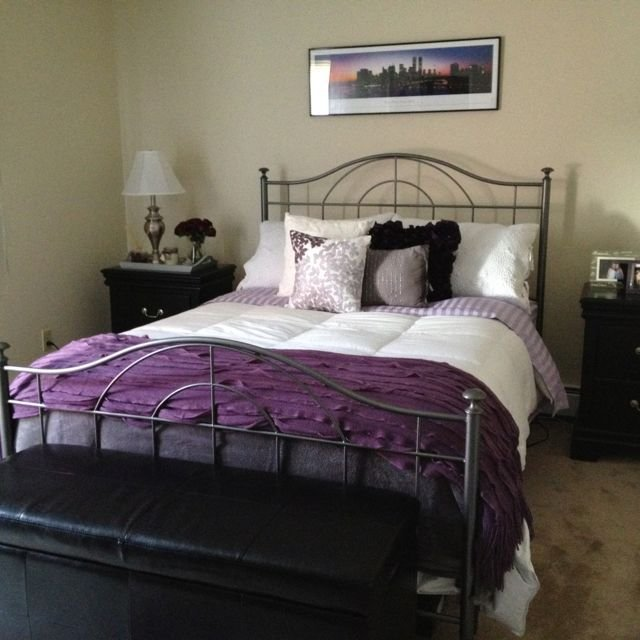 Best 1000 Images About Purple Grey Bedroom On Pinterest With Pictures
