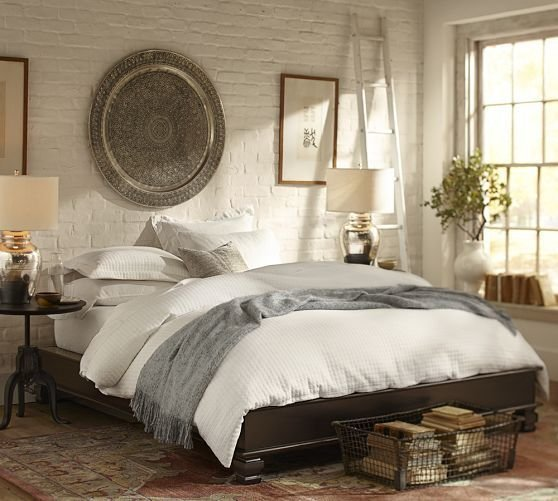 Best Cheswick Platform Bed Pottery Barn Bedroom Pinterest With Pictures