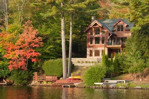 Best This Lakeside Vacation Home In Vermont Features A Full With Pictures