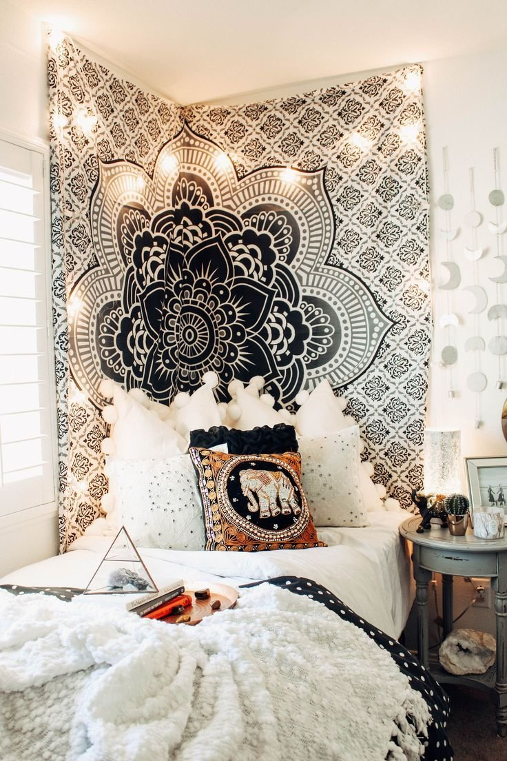 Best 25 Best Ideas About Tapestry Bedroom On Pinterest College Dorm Lights String Lights Dorm And With Pictures