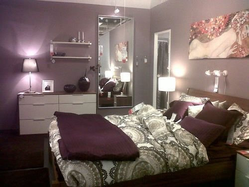 Best Purple Bedroom Home Pinterest Furniture Ikea Duvet With Pictures