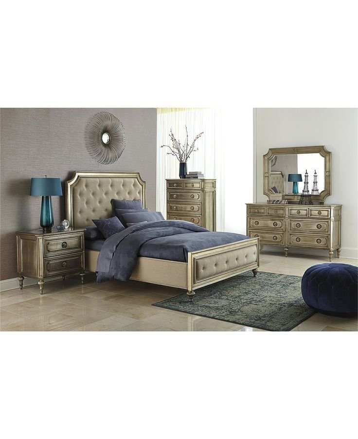 Best Prosecco 3 Piece Queen Bedroom Furniture Set With Chest With Pictures