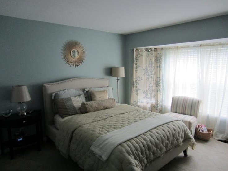 Best Sherwin Williams Quietude Paint Colors Pinterest Master Bedroom With Pictures