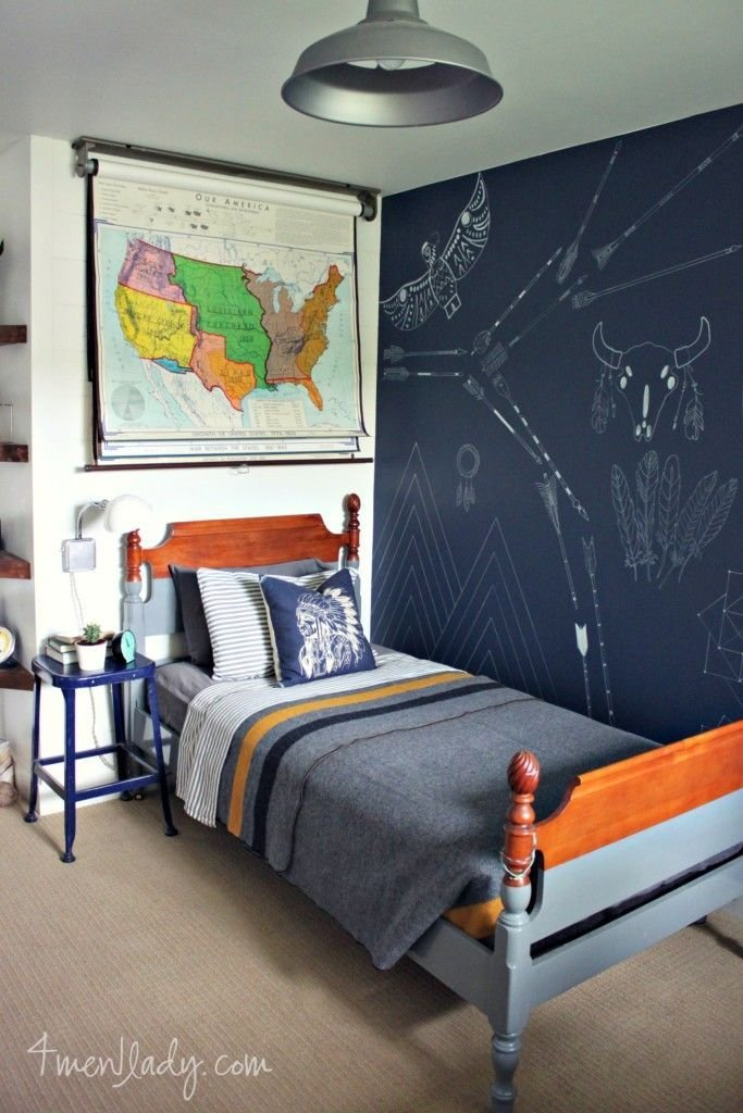 Best I Love This Academic And Fun Boy S Room The Dark Accent With Pictures