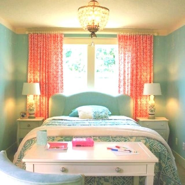 Best Aqua And Coral Bedroom Peach Turquoise Bedroom With Pictures
