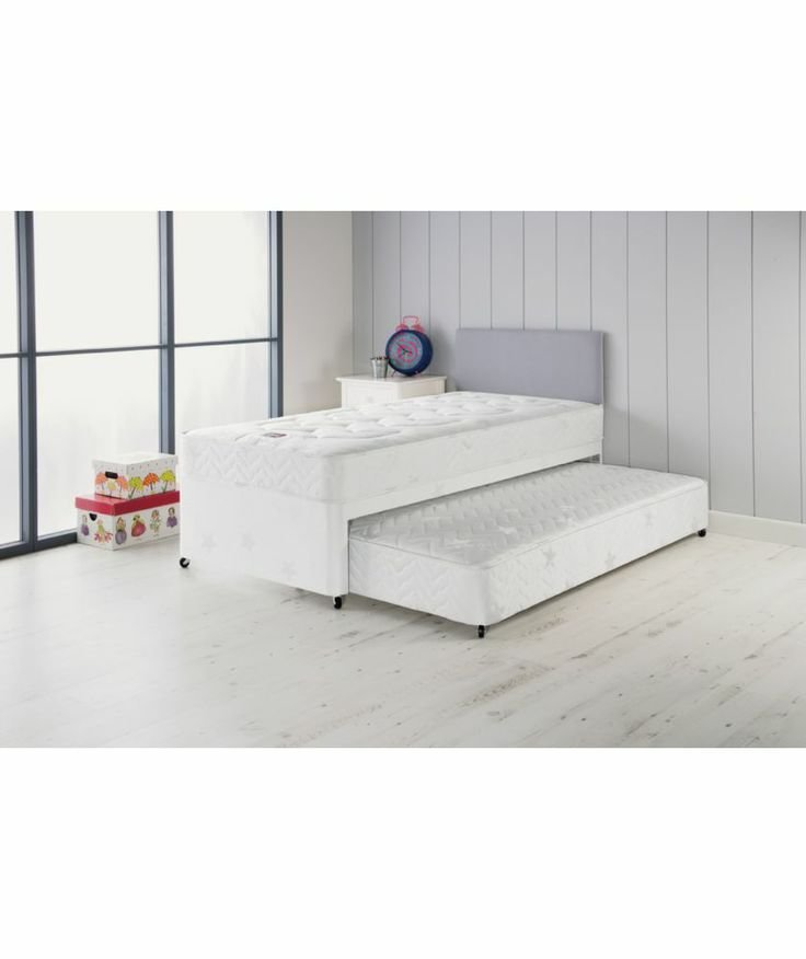 Best Buy Airsprung Elliott Deluxe Single Divan Bed With Trundle With Pictures