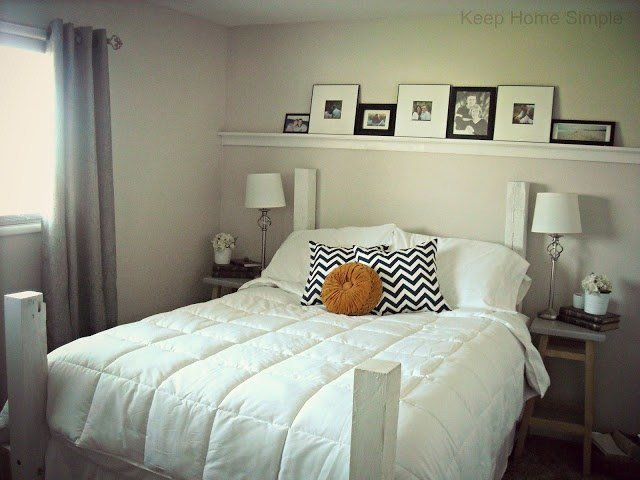 Best Keep Home Simple Redecorating Our Masterbedroom On A With Pictures