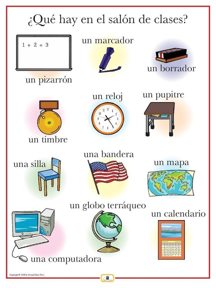 Best 78 Best Images About Classroom Objects Los Objetos Dentro With Pictures