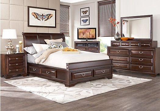 Best Mill Valley 7 Pc Queen Bedroom At Rooms To Go Roomstogo With Pictures