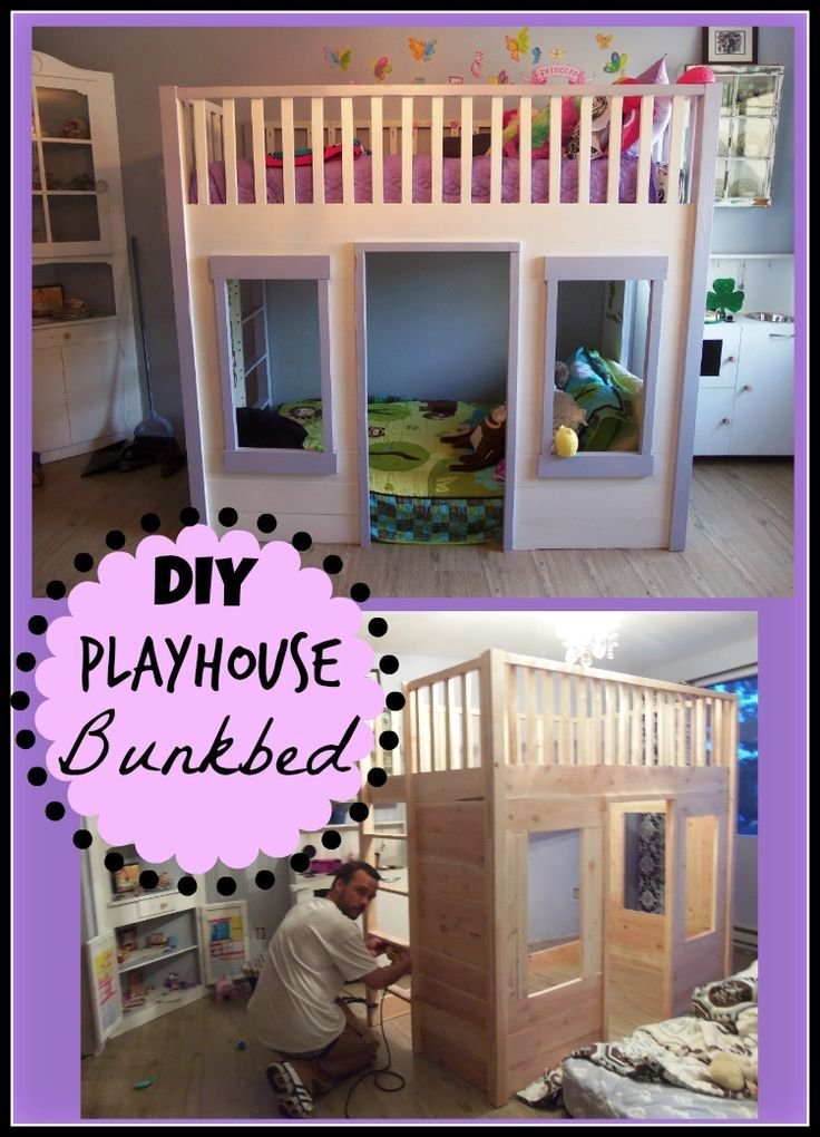 Best 25 Playhouse Bed Ideas On Pinterest With Pictures