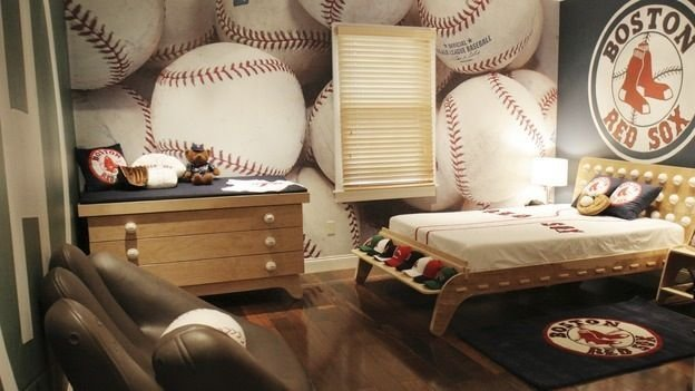 Best Baseball Room Ideas For T**N Boy Share Tyler Room With Pictures