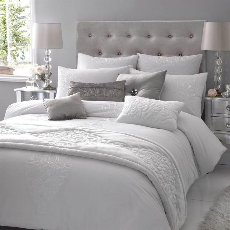 Best Grey And White Winter Bedding Bedroom Decor Pinterest Bed Linens Modern And Bed Duvets With Pictures