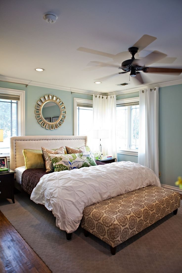 Best Rainwashed Paint Color By Benjamin Moore Pintuck Duvet With Pictures
