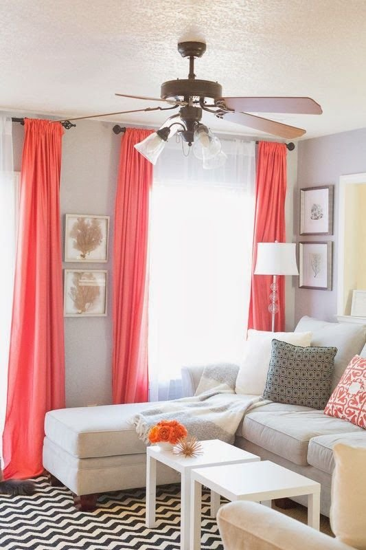 Best 25 Best Ideas About Coral Curtains On Pinterest Peach With Pictures
