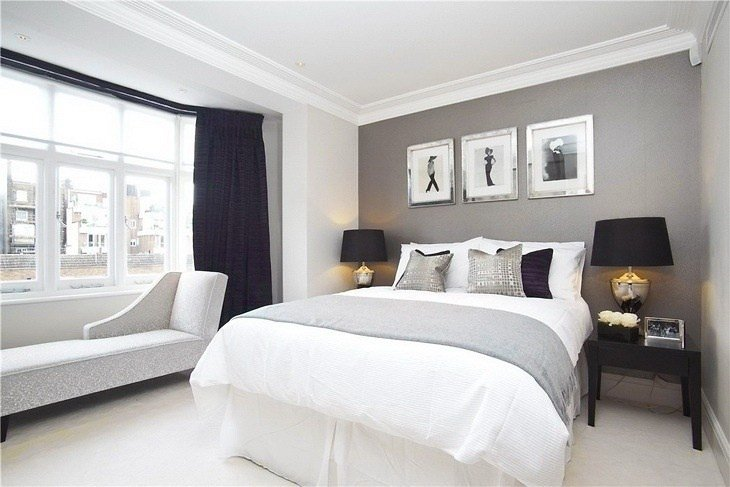 Best Grey Bedroom Do With Navy Bedroom Decor Diy Ideas Pinterest Grey Walls Silver With Pictures