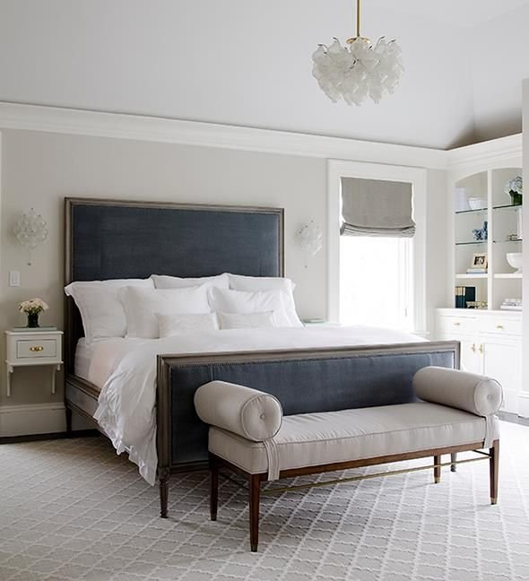Best An Organized Nest Bedrooms Gray And Blue Bedroom Blue With Pictures