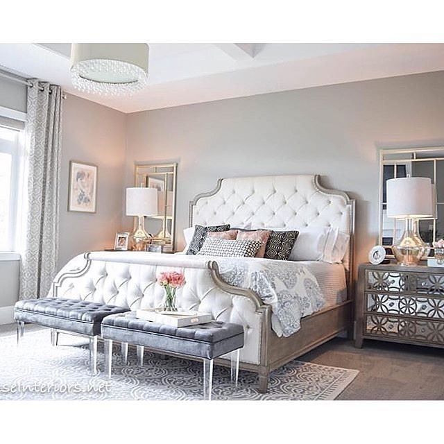 Best 25 Tufted Bed Ideas On Pinterest Grey Tufted Headboard Beautiful Bedrooms And Grey Bedrooms With Pictures