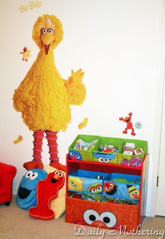 Best Sesame Street Big Bird Wall Decal Room Decor Sesame With Pictures