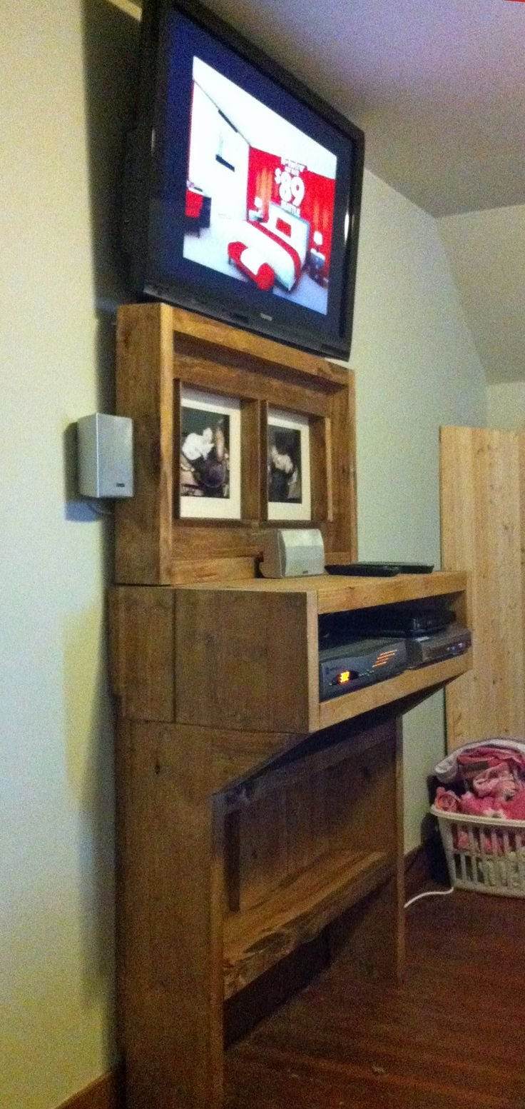 Best The Bedroom Tv Shelf Project Wall Mount Tv Shelf Tv With Pictures