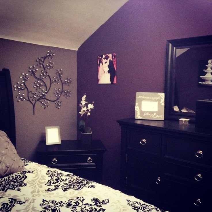 Best My Purple And Grey Bedroom My Diy Pinterest Shades Of Purple Furniture And Grey With Pictures