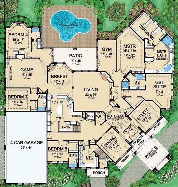 Best 25 Best Ideas About Large House Plans On Pinterest Beautiful House Plans Large Floor Plans With Pictures