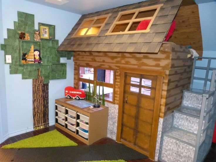 Best Bedroom Created For A Minecraft Obsessed Child Rooms With Pictures