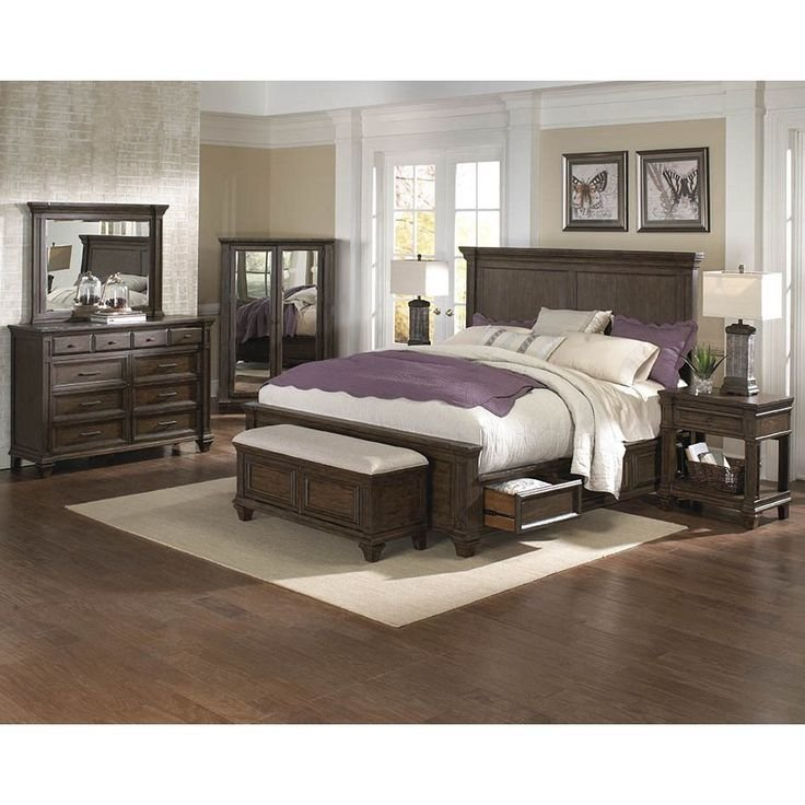 Best Simply Solid Logan Solid Wood 5 Piece Queen Bedroom With Pictures