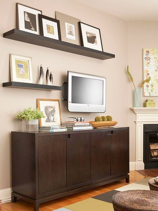 Best 17 Best Ideas About Shelves Around Tv On Pinterest Photo With Pictures
