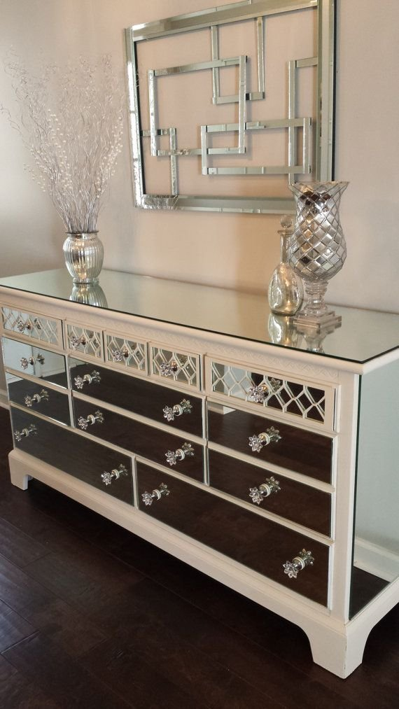 Best 93 Best Diy Mirrored Furniture Images On Pinterest With Pictures